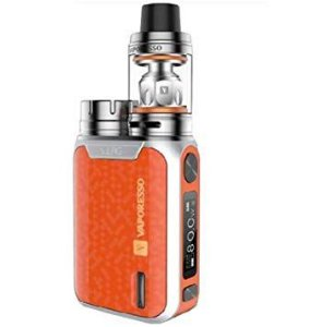 VAPORESSO SWAG Vape Starter Kit 80w TC 2ml NRG Tank - ORANGE
