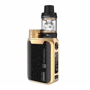 VAPORESSO SWAG Vape Starter Kit 80w TC 2ml NRG Tank - GOLD