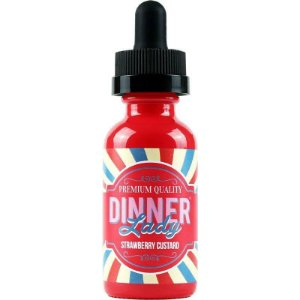 Juice - Strawberry Custard  - 0mg - 60ml - Dinner Lady