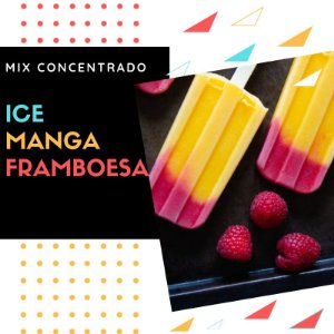 Mix Concentrado - Ice Manga Framboesa - 10ml - VLAD