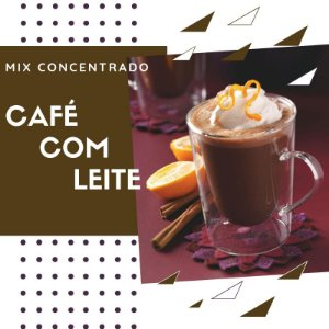 Mix Concentrado - Café com Leite - 10ml