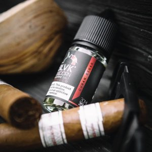 CUBAN CIGAR NICSALT E-LIQUID 30ML 35MG - BLVK