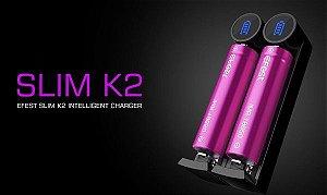 Carregador Efest K2