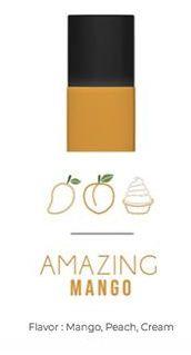 Cartucho Pod Naked 100 1.1ml - Amazing Mango