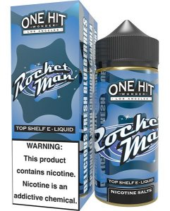 Rocket Man 100ml - 0mg - One Hit Wonder