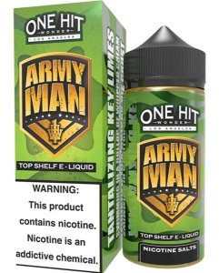 Army Man 100ml - 3mg - One Hit Wonder