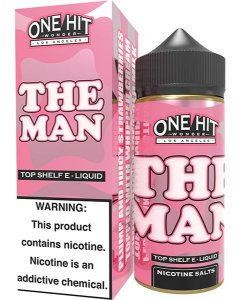 The Man 100ml - 0mg - One Hit Wonder