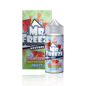 STRAWBERRY WATERMELON FROST BY MR. FREEZE 100 ML - 0MG