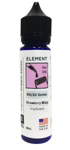STRAWBERRY WHIP - ELEMENT 60ML 0MG