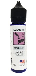 APPLE ACAI - ELEMENT 60ML 0MG