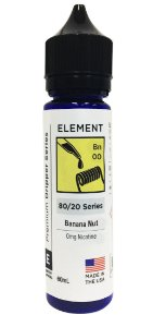 BANANA NUT - ELEMENT 60ML 0MG