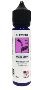 WATERNELON CHILL - ELEMENT 60ML 3MG