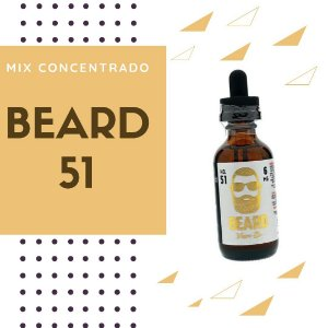 Super Mix - Beard 51 - 10ml - Vlad