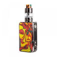 Voopoo Drag 2 Platinum Kit - Fire Cloud + 2 baterias 18650 e 1 juice de brinde 30ml
