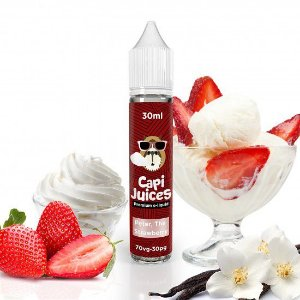 Peter, The Strawberry 30ml - 3mg | Capijuices