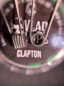 Coil Pronta CLAPTON - (26/36)  3mm - NI80 - 0.66ohms (Single) - 1 Par