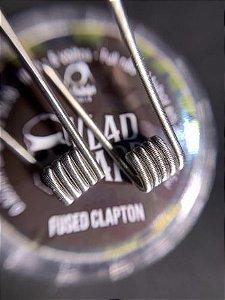 Coil Pronta FUSED CLAPTON - (2*26/36)  3mm - NI80 - 0.32ohms (Single) - 1 Par
