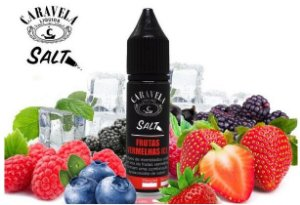 Frutas Vermelhas Salt - 35mg - 15ml | Caravelas