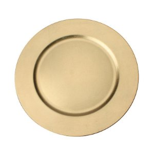 Sousplat Dourado para Prato Ø 33cm