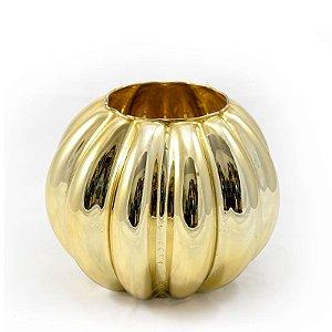 Aquário Ondulado Médio Dourado