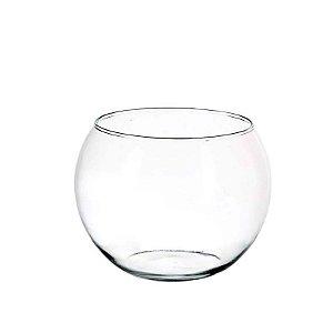 Aquário de Vidro Transparente 17 cm