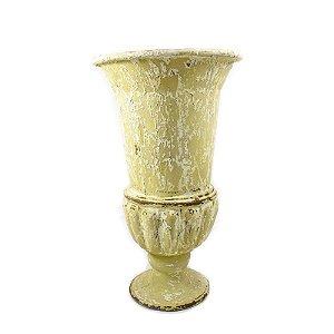 Vaso de Fibra Bege Médio