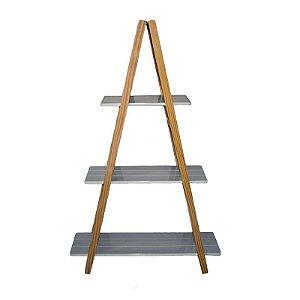 Mesa Escada Pinus de Madeira - Grande 1,47x92