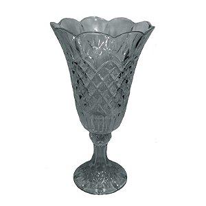 Vaso de Cristal com pé Grande 25x46