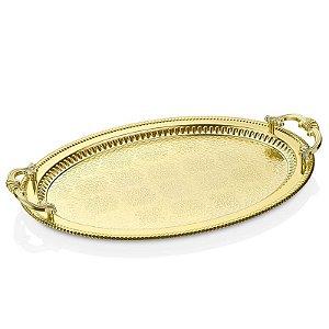 Bandeja Metal Espelhada G - Ouro