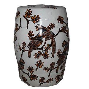 Artefato de para Decoração de Cerâmica - Estampado