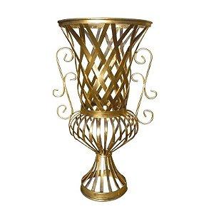 Vaso Imperial Dourado