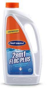 Clarificante e Decantador Floc Plus 2 em 1 - Hidroazul - 1 litro
