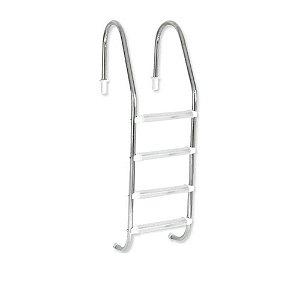 Escada Tradicional 4 degraus ABS - Inaqua