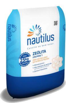 Zeólita para Filtração - 25 kg - Nautilus