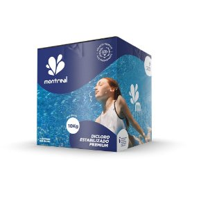 Cloro Estabilizado 10kg (caixa) Montreal