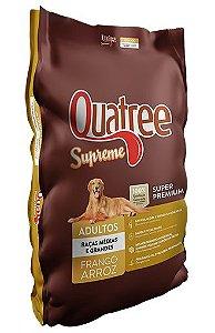 Ração Super Premium Quatree Supreme para Cães Adultos de Raças Medias e Grandes 15Kg