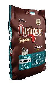 Ração Super Premium Quatree Supreme para Cães Filhotes de Raças Pequenas 7,5Kg