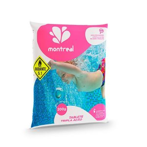 Tablete Tripla Ação Montreal