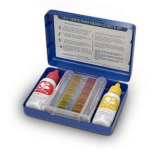 Estojo de Teste pH/Cl