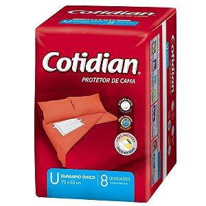 Protetor de Cama Cotidian - Tamanho Único - 8 unidades