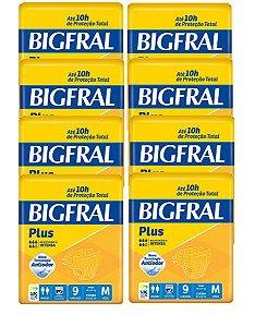 Fralda Geriatrica Bigfral  M 72 Unidades