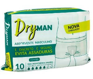 Absorvente Masculino Dry Man  C/10