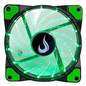 Cooler FAN Rise Mode Wind W1, 120mm, LED Verde (RM-WN-01-BG)