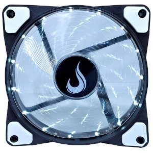 Cooler FAN Rise Mode Wind W1, 120mm, LED Branco (RM-WN-01-BW)