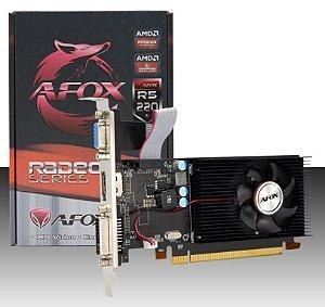AFOX Radeon R5 220, DDR3 1GB, 64Bit (AFR5220-1024D3L9-V2)