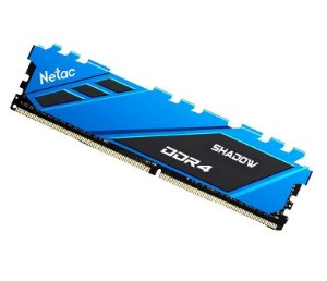 Netac Shadow 8GB DDR4 3200 Mhz, CL16, Azul (NSDBU1BD4083200LY8SP)
