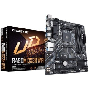 Gigabyte B450M DS3H WIFI AMD B450 mATX DDR4 (rev. 1.2)