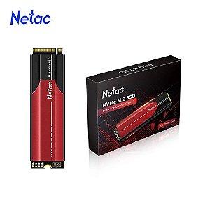 SSD Netac N950E PRO 500GB M.2 NVMe, Leitura 3500MB/s, Gravação 2200MB/s (NT01N950E-500G-E4X)