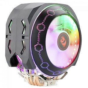 Cooler Redragon Odin Rainbow 2 Fans 140mm Intel-AMD (CC-9202)