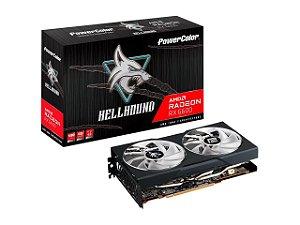 PowerColor Hellhound Radeon RX 6600 8GB GDDR6 FSR Ray Tracing 128 Bits PCI Express 4.0  (AXRX 6600 8GBD6-3DHL)